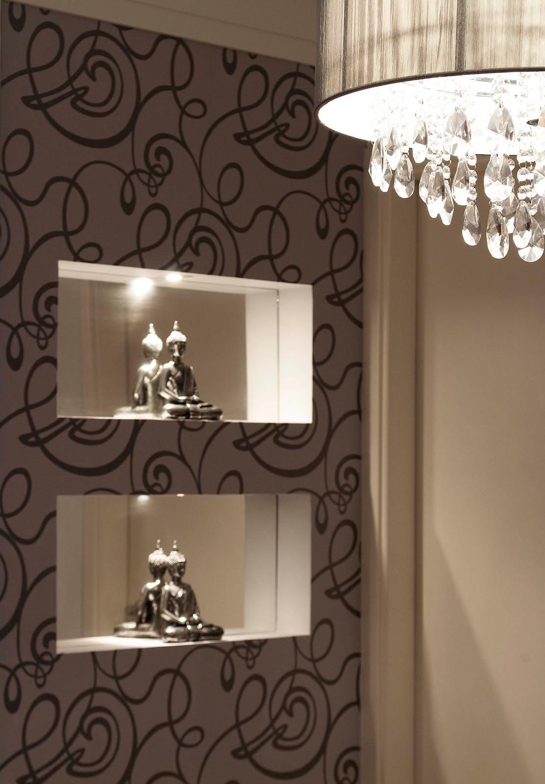 papel de parede deu o espelhos banheiro fotos ideias á sabia banheiro #866D45 1112 1600
