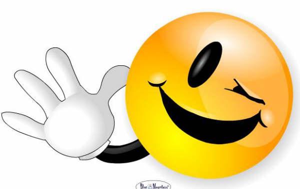 Carita feliz sacando la lengua - Imagui