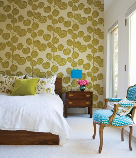 decorica wallpaper accent or entire wall