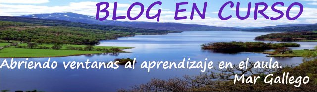 BLOG   EN   CURSO.                    Por Mar Gallego