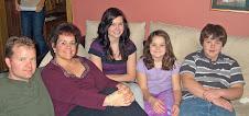 Cris,Suzette,Sarah,Sophie an Caulin
