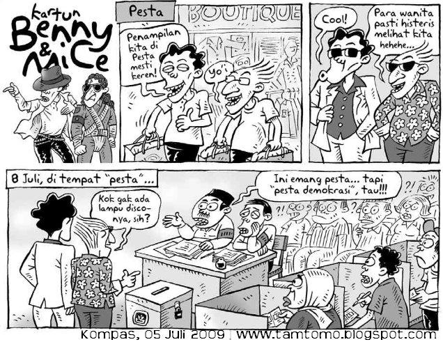 Pemilu Presiden 2009 Pesta Tanpa Lampu Disco