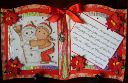 MAGNOLIA TILDA,SNOWY HUGS,BOOKATRIX CARD