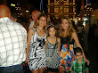 my family at the mellieha festa ,my 3 daughters and my grandson