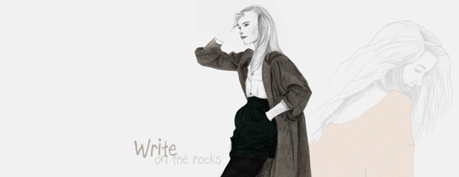 Write on the rocks