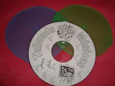 CD de Tabuada com Músicas.