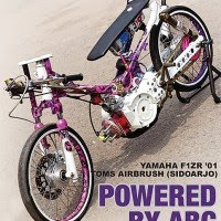 Yamaha F1ZR'01 Sidoarjo: POWERED BY ABC