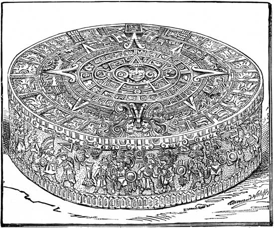 Aztec Calendar Drawing : Tabatha yeatts the opposite of indifference aztec calendars