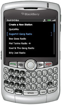 Pandora Blackberry Radio Tip at Gadget Help