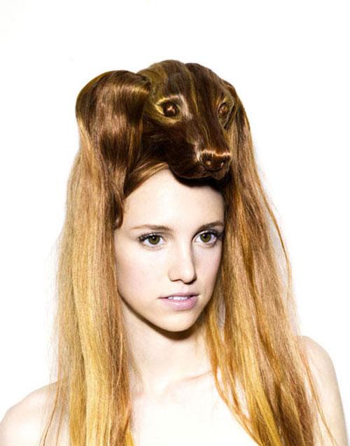 Nagi Noda Create Bizarre Animals Hair Hats Images Seen On www.coolpicturegallery.us