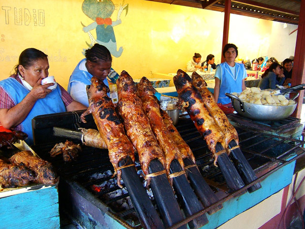 5.+Roasted+Guinea+Pig Worlds Most Strangest Food Images Pictures Seen on www.VyperLook.com