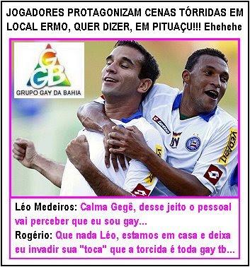 Leo Medeiros e Rogério do Bahia
