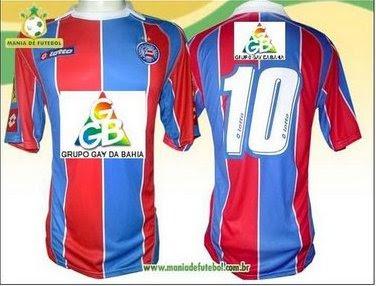 Patrocinador master do Bahia 2009