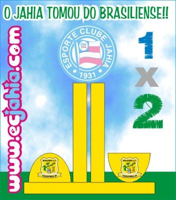 Jahia perde para o Brasiliense