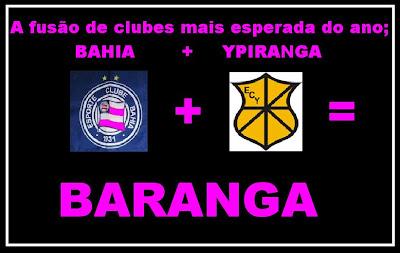 BAHIA + YPIRANGA = BARANGA