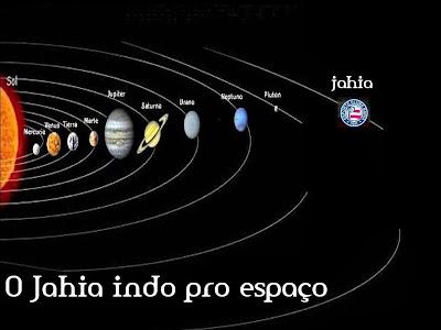 O Jahia indo pro espaço!