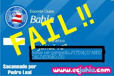 Bahia ser campeão