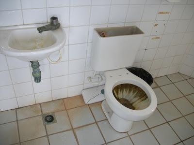 Foto banheiro do Fazendão