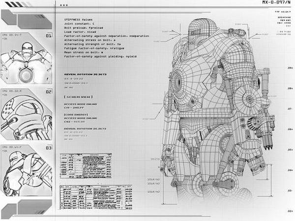Blueprints For An Iron...