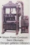Mesin conblock Hydroulic (Vibrator)
