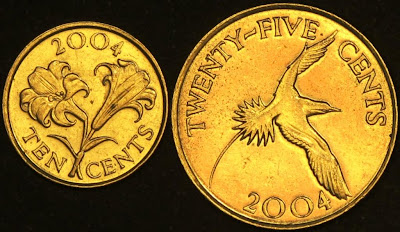 Bermumda coins reverse