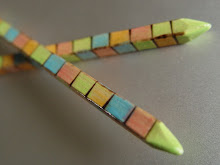 Bright Handmade Hair Sticks