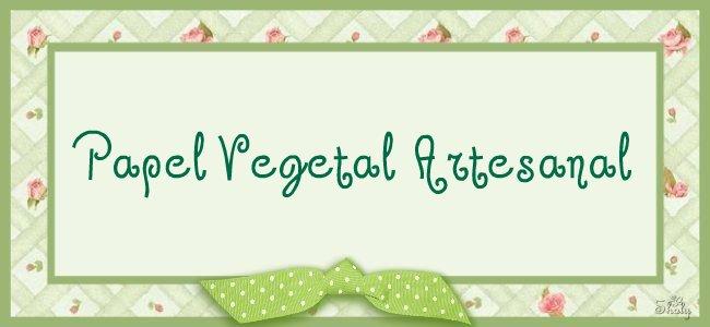 Papel  Vegetal  Artesanal