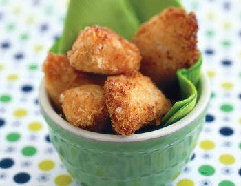 Receta y preparacion de Nuggets hechos con carne de Soya