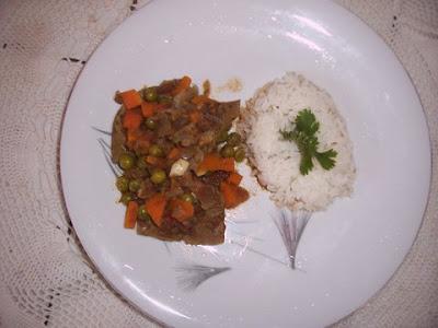 Receta de Seco de carne de Soya