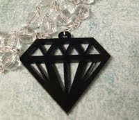 a cool black Diamond Shape