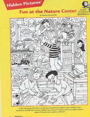 Marilee Sketches: New Hidden Picture
