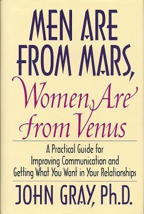 a comparison of you just dont understand by deborah tannen and men are from mars women are from venu 95 quotes from men are from mars, women are from venus: 'when a man can listen to a woman's feelings without getting angry and frustrated, he gives her a.