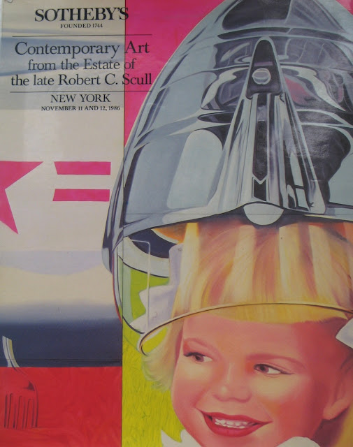 Sotheby's 1986 Catalogue Cover featuring James Rosenquist F-111