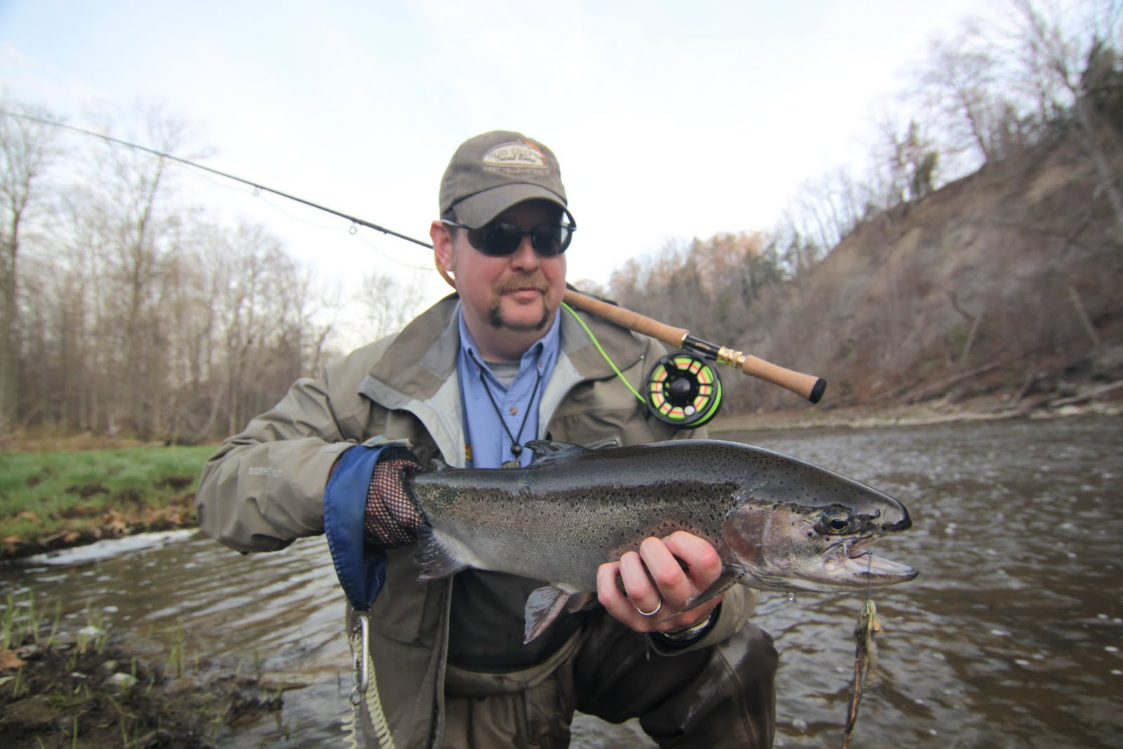 Steelhead alley outfitters lake erie fly fishing guide for Ohio fishing reports