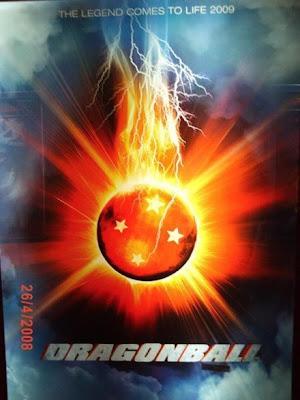 Suposto poster de Dragon Ball - O Filme