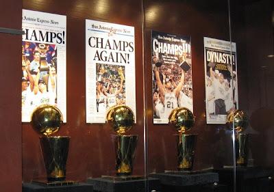 Spurs trophies