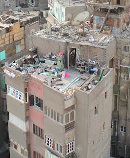 Kairolainen talon katto, helmikuu 2010