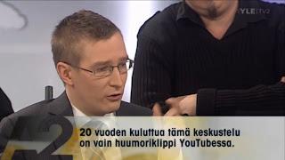 """YLE:n A2 Teema 12.10.2010: Homoilta - tulevaisuudessa pelkkä koominen """"huumoripätkä"""" konservatiivisen epätasa-arvoiselta ajalta?"""