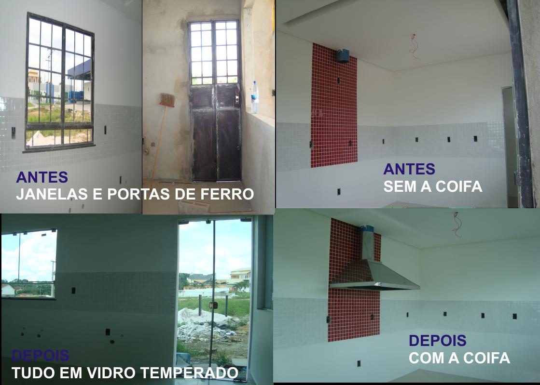 #3B3769 de obras da casinha quero mostrar pra vocês o antes e depois de  566 Janelas Em Arco De Ferro