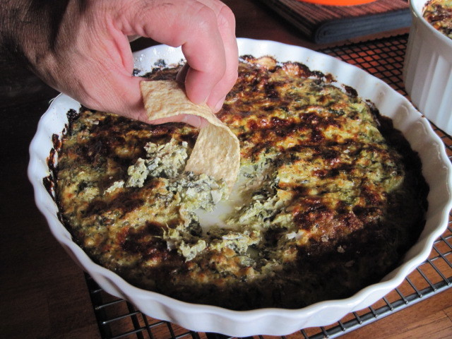 Hot Asparagus and Spinach Dip Recipe