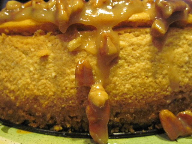 Kudos Kitchen By Renee: Maple Pumpkin Cheesecake With Pecan Glaze