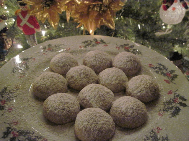 Pecak Snowball Cookie Recipe