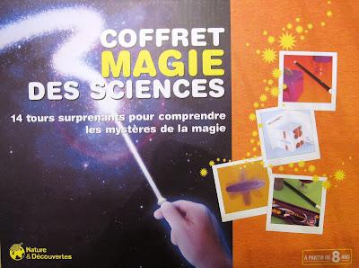 Ecouter l 39 autisme matthieu le magicien coffret magie des for Nature et decouvertes tours