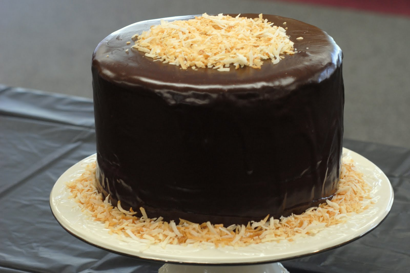 Inside-Out German Chocolate Cake Recipe — Dishmaps