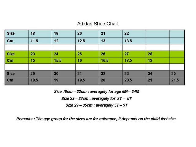 Gymboree Sizing Chart Shoes