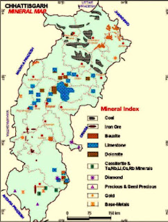 Mineral Resource Map