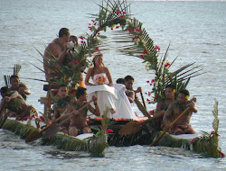 Our wedding boat