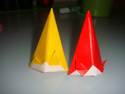 party hat origami