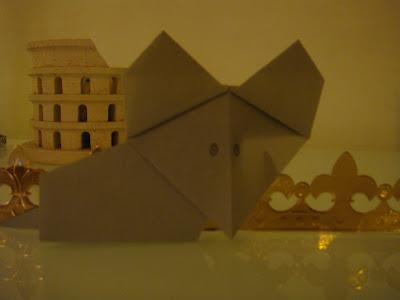 la souris origami