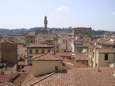Toits de Florence vus du Campanile
